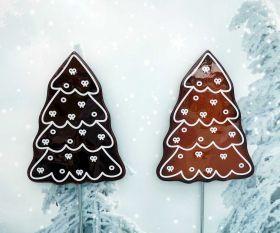 Lebkuchenbaum aus Kristallglas