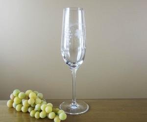 Sektkelch Weinlaub