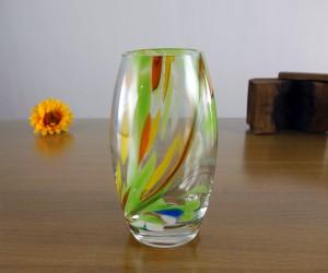 Vase Green Garden bauchig