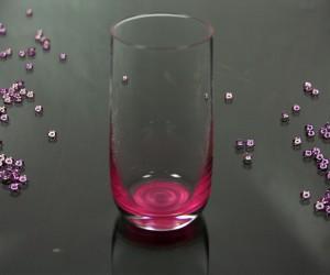 Newpastell pink Trinkglas
