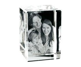 3D-Glasfoto 13x9x7,5cm