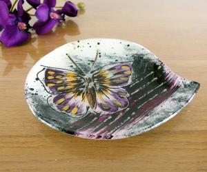 Butterfly Kerzenteller