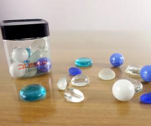 Pebbles blau