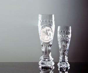 Bleikristall Bierglas