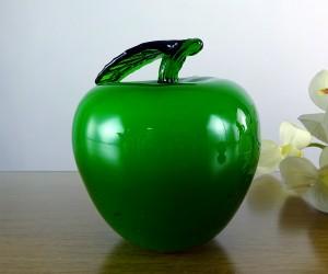 Grüner Glasapfel
