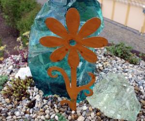 Gartenstecker Blume