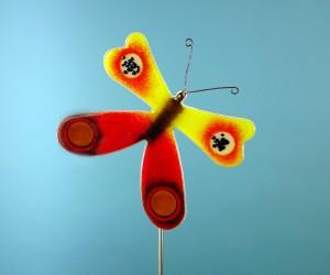 Kleinre Schmetterling