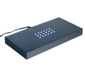 LED Sockel schwarz groß
