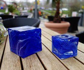 Blauer Pflasterstein