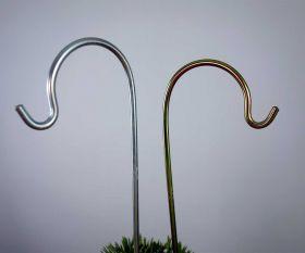 Metallstab kurz gebogen 36 cm
