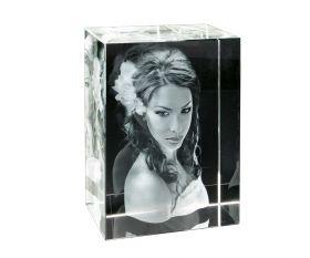 3D-Glasfoto XXL 20x15x10cm