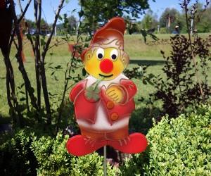 Roter Gartenzwerg