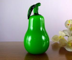 Grüne Glasbirne