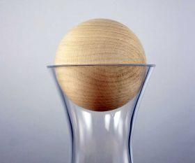 Zirbenholzkugel für Karaffen