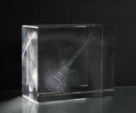 3D-Laserwürfel Gitarre