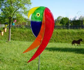 Papagei Fusingglas