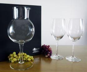 Geschenkset Weinkaraffe mit Kirstallgläsern