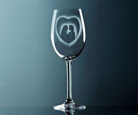Rotwein Glas Paar