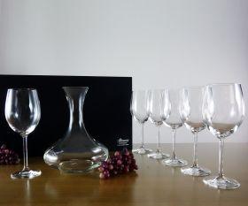 Geschenkset Weinkaraffe und Gläser