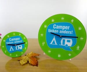 Wanduhr Camper