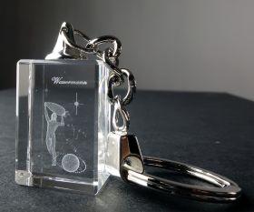 3D-Schlüsselanhänger Wassermann