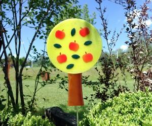 Gelber Apfelbaum