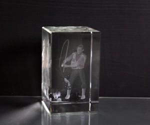 3D-Laserwürfel Angler