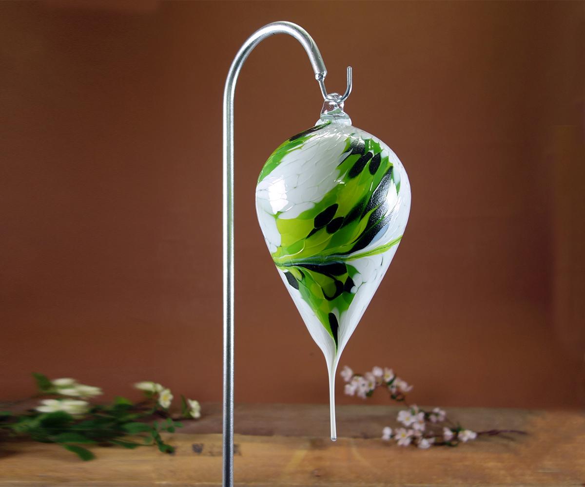 spitztropfen aus glas als gartendekoration joska glasparadies. Black Bedroom Furniture Sets. Home Design Ideas