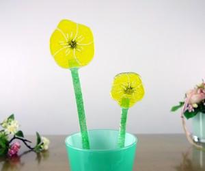 Gelbe Fusing-Blume