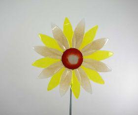 Kleine Fusing-Blume aus Kristallglas