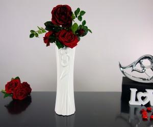 Vase mit Paarmotiv