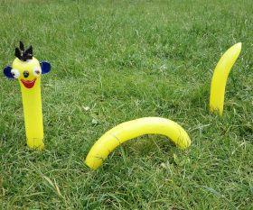 Gelber Gartenwurm