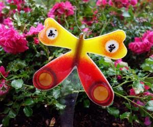 Schmetterling aus Glasstab