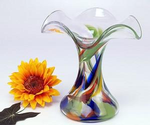 Green Garden Vase