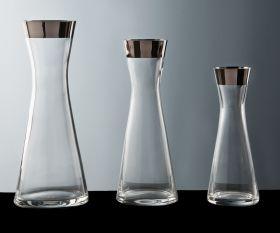 Kristall-Karaffe Platin