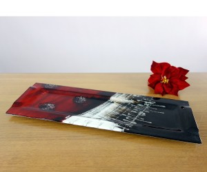 Fusingteller schwarz/rot