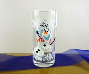 Kinderbecher aus Kristallglas mit Eisprinzessin-Motiv Olaf