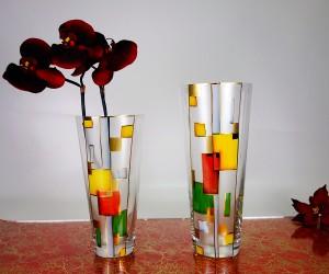 Vase paint konisch