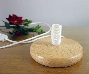 Lichtsockel aus Holz
