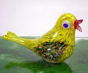 Gelber Glasvogel