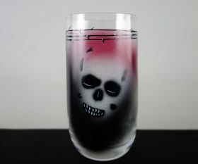 Paint Skull Becher