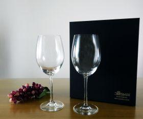 Rotweinglas Geschenkset