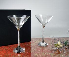 Martini mit Kristallsteinchen