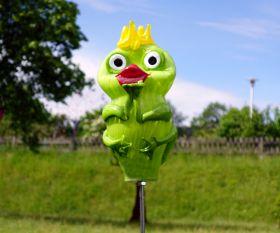 Froschkönig mit Kussmund