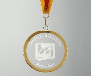 Medaille glatt