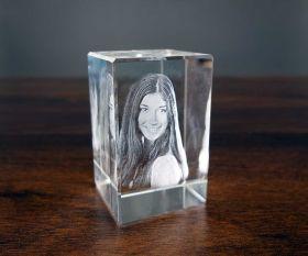 3D-Glasfoto 8x5x5cm