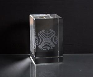 3D-Laserwürfel Schützen