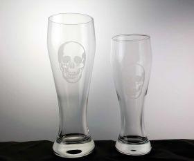 Evil Skull Weißbierglas
