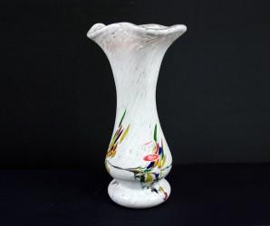 Unikat Vase weiß