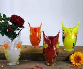 Eulen Vase gerade